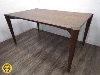 ウッドユウライクカンパニー WOOD YOU LIKE COMPANY クローバーテーブル 無垢材 149cm ●