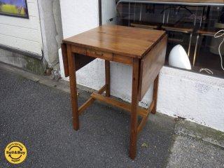 conte-Lime コンテライム butterfly table バタフライテーブル 伸長式 パイン無垢材 ◇