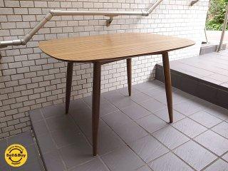 カリモク60+ 『Dテーブル』ウォールナット デコラトップ ダイニングテーブル ■