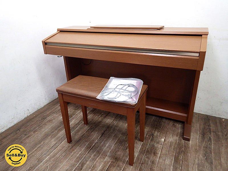 YAMAHA ヤマハ クラビノーバ CLP-120 電子ピアノ スツール取説付 ●