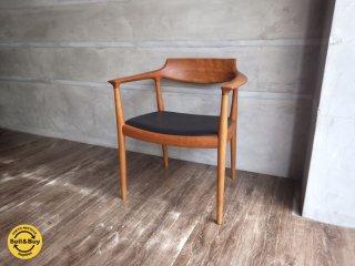 家具蔵 KAGURA / LIEBEN リーベン アームチェア 椅子 チェリー材 展示品 A ♪