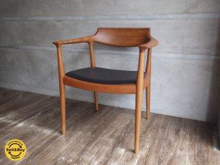 家具蔵 KAGURA / LIEBEN リーベン アームチェア 椅子 チェリー材 展示品 B ♪