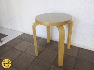 artek アルテック stool E60 スツールE60 SCOPE別注カラー オリーブ A◇