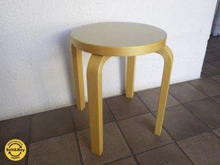 artek アルテック stool E60 スツールE60 SCOPE別注カラー オリーブ B◇