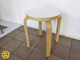artek アルテック stool E60 スツールE60  ホワイトB◇