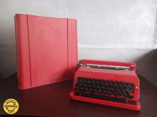 イタリア olivetti オリベッティ社 赤いバケツ タイプライター 『 バレンタイン S 』 MoMA ♪