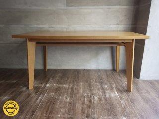 unico ウニコ / CORSO コルソ オーク材 ダイニングテーブル 幅150cm 展示品 ♪