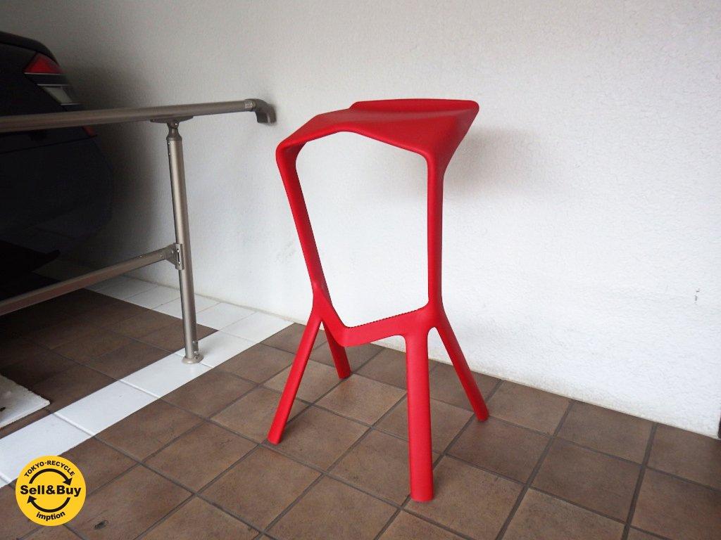 PLANK プランク MIURA stool ミウラスツール レッド コンスタンチン・グルチッチ デザイン イタリア ◇