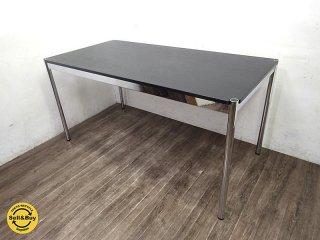 USM Haller ハラーシステム デスク テーブル w150 ブラック ●