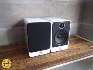 Q Acoustics キュー アコースティックス 2020i ブックシェルフ型 パッシブ 2wayシステム グロスホワイト ペア ♪