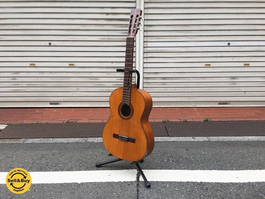 松岡良治 Ryoji Matsuoka クラシックギター 単板 型番不明 サイン入り ◎