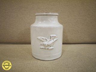 Astier de Villatte アスティエ・ド・ヴィラッド ソーブル ベース(鳥) 花瓶 ●