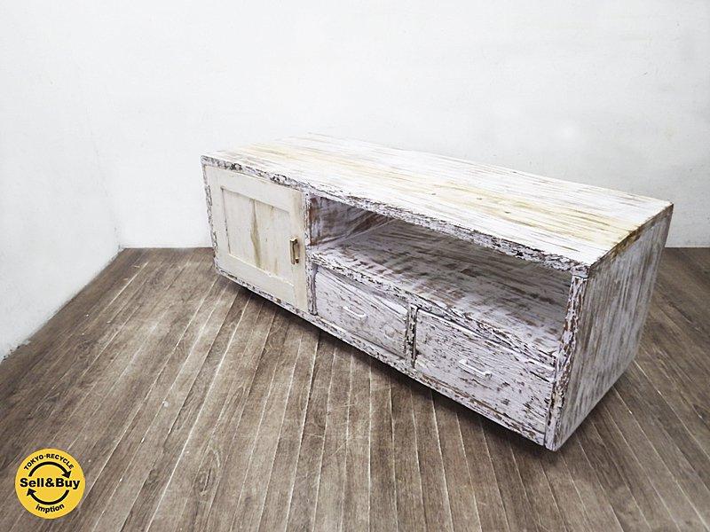 journal standard Furniture ジャーナルスタンダードファニチャー BREDA / ブレダ テレビボード  inoxydable 限定カラー●