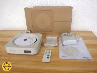 美品 MUJI 無印良品 壁掛け式 CDプレーヤー CDP-4 2015年製 箱付 ◇