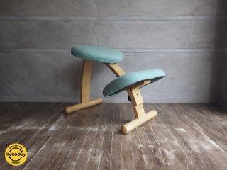 ノルウェー Rybo社 リボ バランスイージー チェア 学習 椅子 水色 ♪