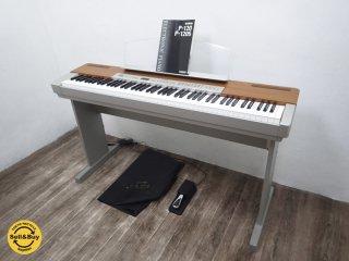 ヤマハ YAMAHA 電子ピアノ P-120 説明書 カバー ペダル付き ●
