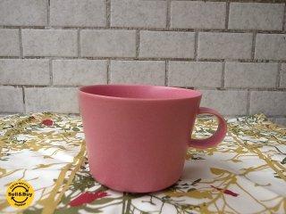 """イイホシユミコ """"unjour""""アンジュール matin マグカップ 限定カラー:ピンク 箱/栞付■"""