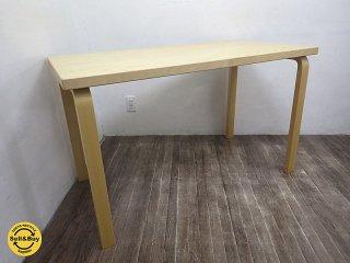 artek / アルテック アルヴァ・アアルト デザイン テーブル デスク TABLE82A バーチ●