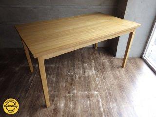無印良品 MUJI / タモ 無垢材 ダイニングテーブル ♪