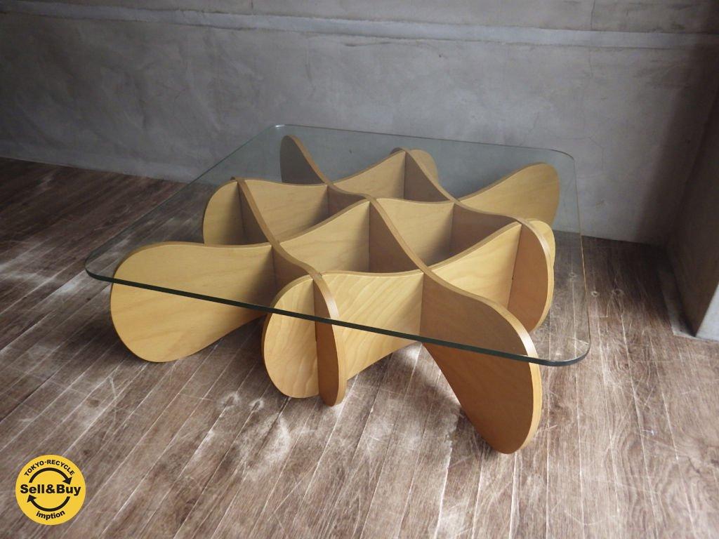 E&Y イーアンドワイ / MATRIX TABLE マトリックステーブル Sサイズ プライウッド ナチュラルベージュ…