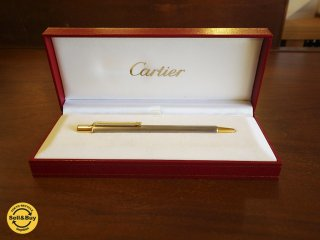 Cartier カルティエ STYLO BILLE MUST II ボールペン 箱有 フランス 筆記用具 ◇