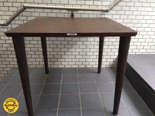 カリモク60+ ダイニングテーブル 幅80cm モカブラウン ラバートリー ■