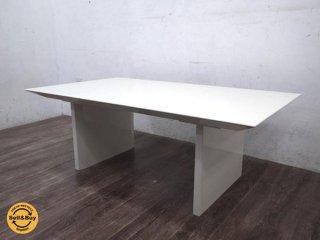 IDC 大塚家具 モダン リビング ローテーブル ホワイト ◇