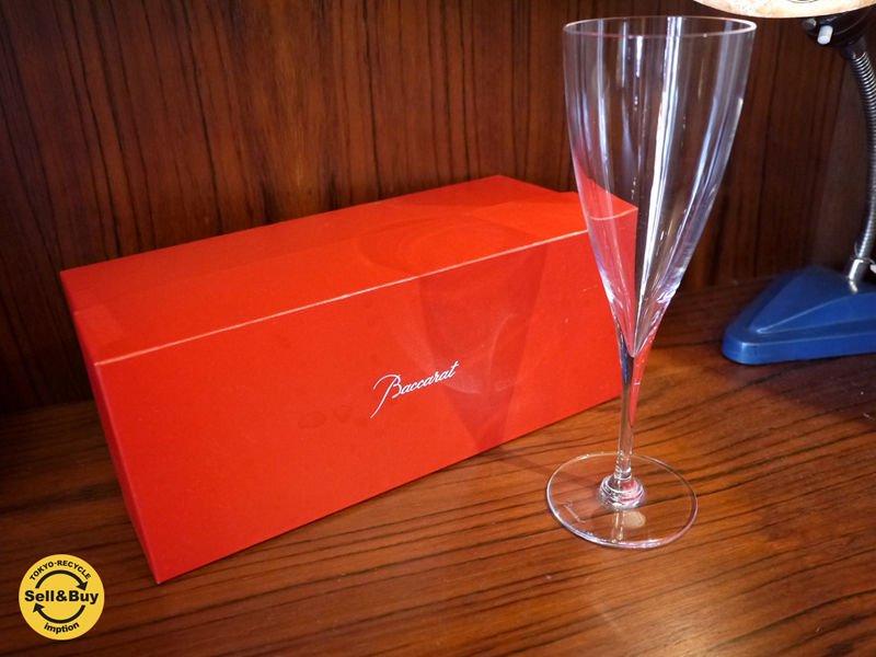 バカラ Baccarat ドンペリニヨン ゴブレット Dom Perignon Goblet クリスタル グラス 箱付 B ◎