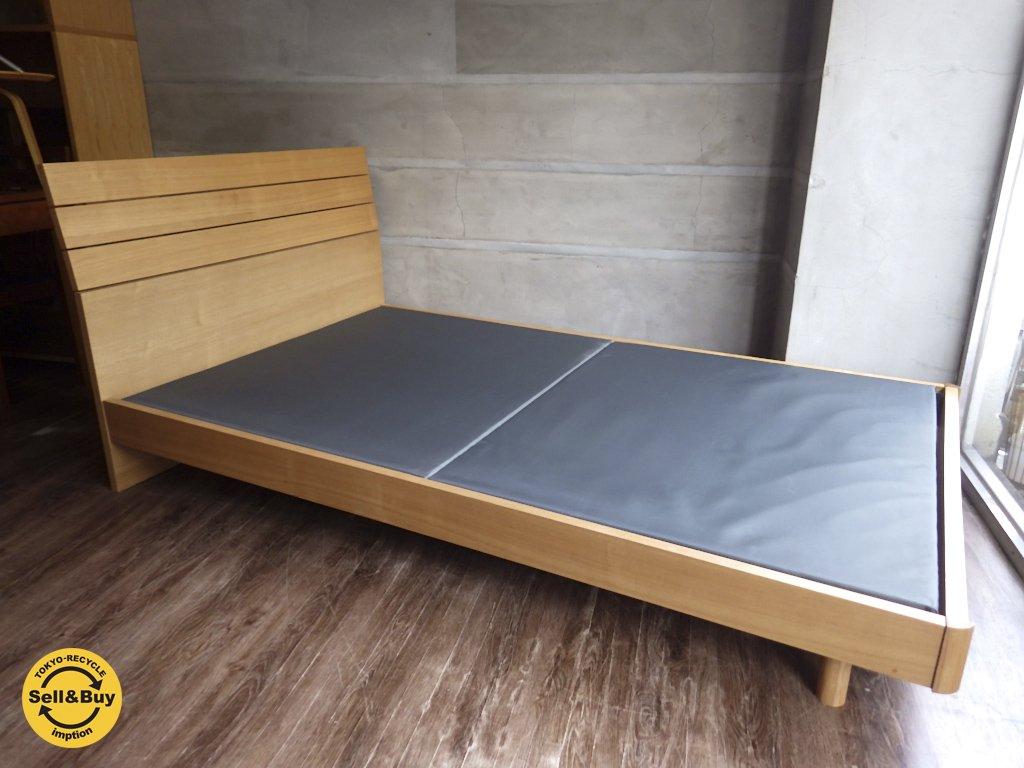 モダンナチュラルデザイン ベッドフレーム  SD セミダブル 高さ86cm ♪