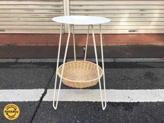 イデー IDEE ワラビー WALLABY サイドテーブル SIDE TABLE ホワイト ◎