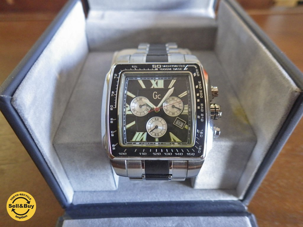 GUESS Collection ゲスコレクション 海外モデル ダイバークラススクエア 腕時計