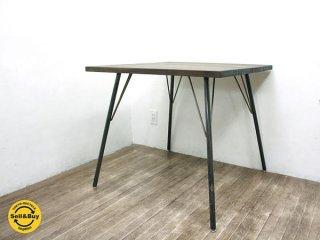 BIMAKES ビメイクス シンバス ダイニングテーブル 鉄脚 無垢材 ◇