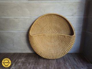 IDEE イデー / POD ポッド あぐら 座椅子 ラタン 岡嶌 要 デザイン ♪