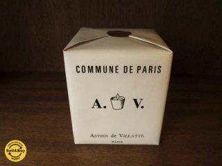 Astier de Villatte アスティエ ド ヴィラット コミューンドゥパリ COMMUNE DE PARIS パフュームキャンドル 陶器 ◇
