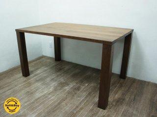 柏木工 KASHIWA ウォールナット 無垢材 ダイニングテーブル ●