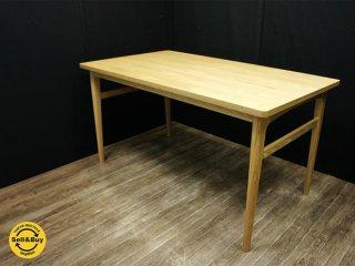 unico ウニコ SIGNE シグネ ダイニングテーブル 140cm アッシュ ◎