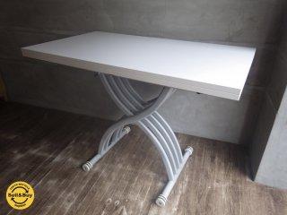 OZZIO オッジオ  SALISCENDI 昇降伸長式 テーブル ♪