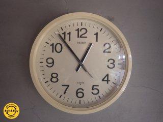 SEIKO セイコー / 掛け時計 オフホワイト ♪