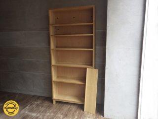 無印良品 MUJI 『 組み合わせて使える木製収納 』ミドルタイプ 奥行21cm 収納 本棚 キャビネット ブックシェルフ ♪