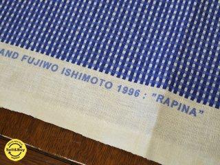 希少 marimekko マリメッコ Rapina リネン100% ファブリック 84x150 ◎