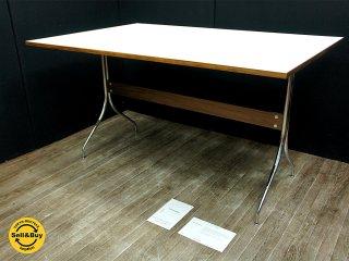 ハーマンミラー HermanMiller ネルソン スワッググループ ワークテーブル ジョージネルソン デザイン 展示品 ●