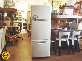 ナショナル National WiLL / ウィル FRIDGE mini 冷蔵庫 2002年製 162L ホワイト ノスタルジックデザイン ◇
