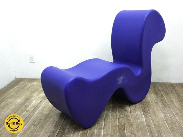 デンマーク イノべーション社 ファントムチェア パントン 紫 ●