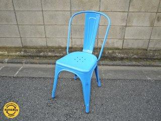 希少! Tolix / トリックス  『A-chair』 ブルーFrance コンランショップ取扱 ◎