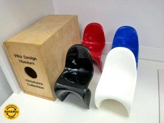 Vitra. Design Museum ヴィトラ デザイン ミュージアム Panton Chair パントンチェア 1/6サイズ 訳あり ●