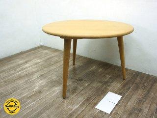 カール・ハンセン Carl Hansen & Son CH008 コーヒーテーブル Φ78cm ハンス・J・ウェグナー ●