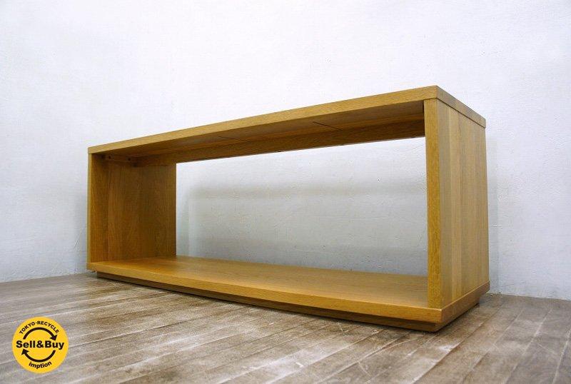 MUJI / 無印良品 現行・美品 『 無垢材テーブルベンチ ・ オーク材 』 ナチュラル ★