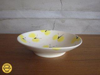 石木文 ISHIKI FUMI / てふてふ シリーズ 小皿 蝶々 黄色 ♪
