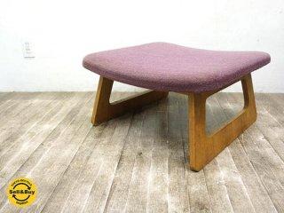 天童木工 TENDO 低座椅子用? オットマン スツール ビンテージ ●