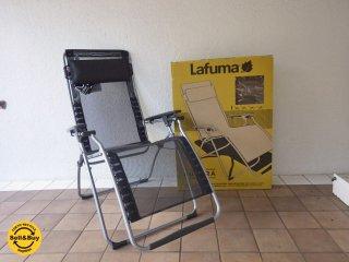 未使用品 ラフマ Lafuma FUTURA リクライニングチェア フランス 箱付き ◇